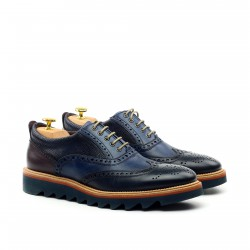 Multi Texture Wingtip Sport Oxford
